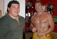 Ray lost 110 lbs and competes in firefighters games, fire fighter, firefighter, lost weight, lost fat, weight-loss